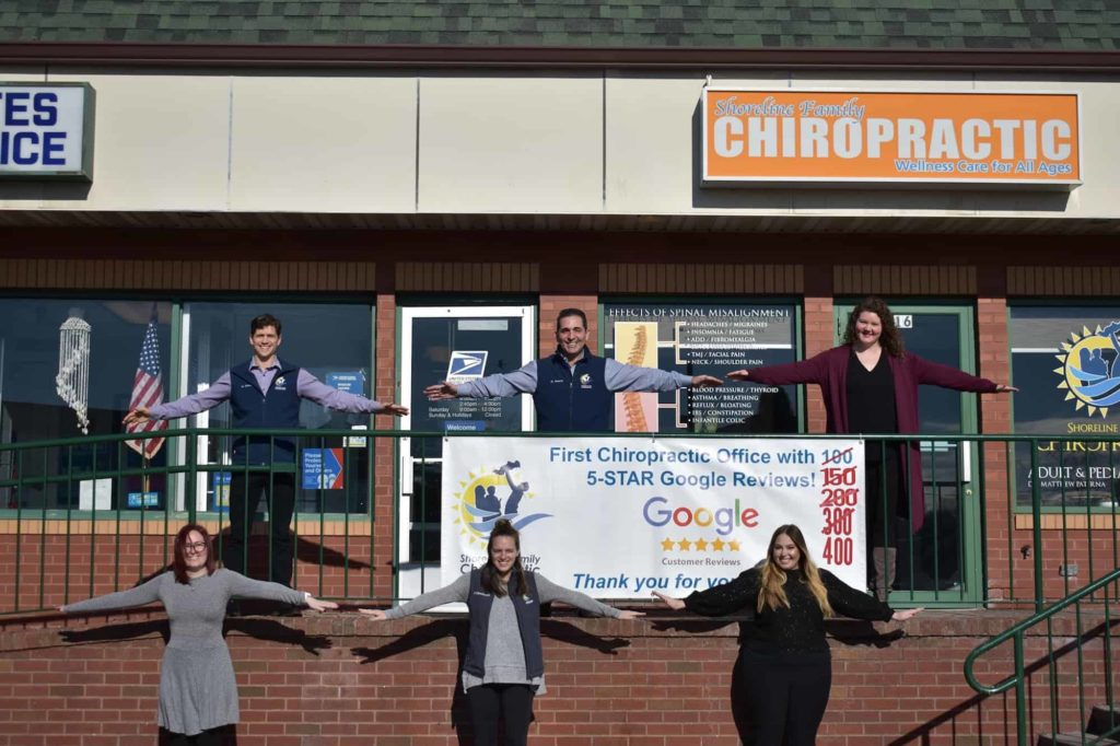 Shoreline Chiropractic reaches 500 reviews with Zingit